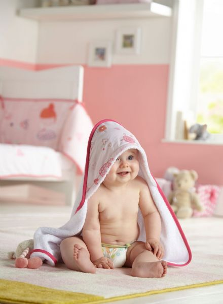 Tippy Toes Hooded Towel